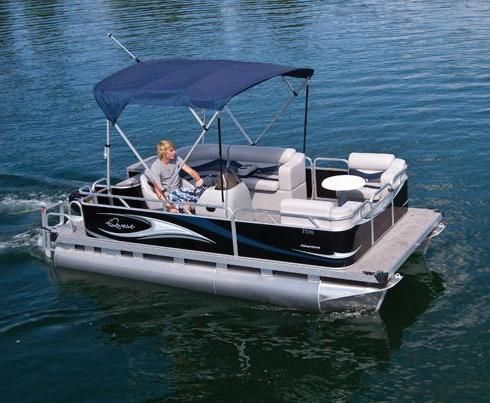 Best 25 small pontoon boats ideas on pinterest mini for Best fishing pontoon