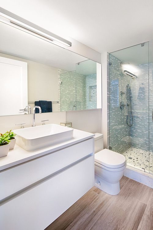 There's nothing quite like stepping out of the shower onto a warm floor! https://www.forbes.com/sites/houzz/2016/10/18/what-to-consider-before-installing-heated-floors/#1d5bda2f71e8