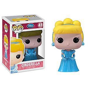 Cinderella Pop! Vinyl Figure by Funko | Disney Store Your Pop! Vinyl Figure Collection will go from rags to riches with Cinderella on the dream team. This Kawaii-styled sculpt will dazzle any dash or Disney toy shelf.