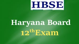 HBSE 12th Exam Date Sheet 2017, Haryana Board 12th Time Table