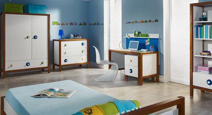 Funkcjonalne meble młodzieżowe Filo. Wysoka jakość i ciekawy design. Meble dostępne są w dwóch wariantach kolorystycznych.