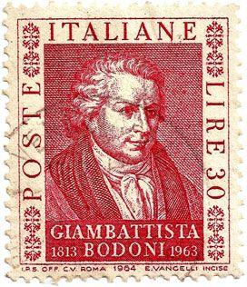 Giambattists Bodoni ( 1740 -1813) was an Italian typographer, type-designer, compositor, printer and publisher .Italiane 30 Lire