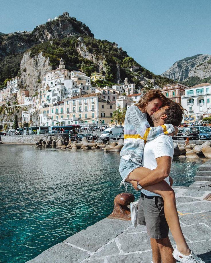 Katerina & Yinon #amalfi #travelcouple #love #couplegoals
