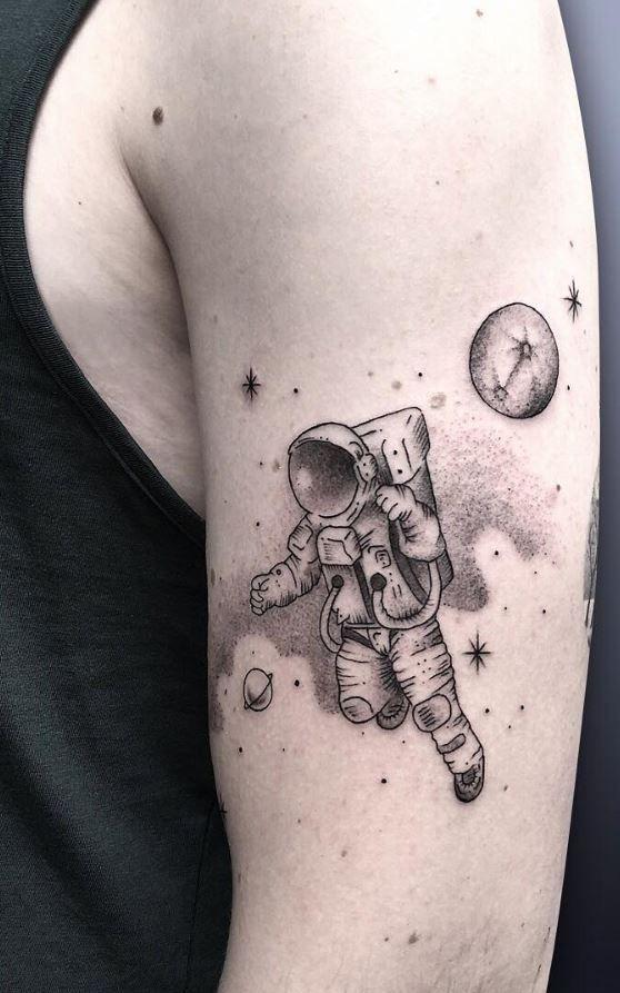 астронавт картинка для тату видите тумблер для