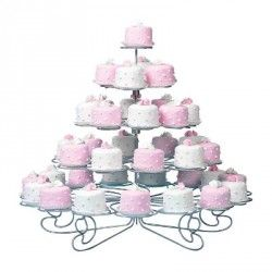 Cupcake houder standaard 23st.