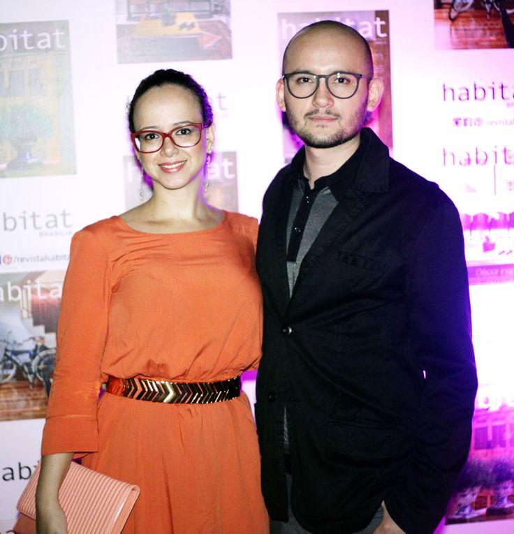 Lilian Glayna e Eduardo Sáinz na inauguração da Mostra Casa Viva. #casaviva #habitatnacasaviva