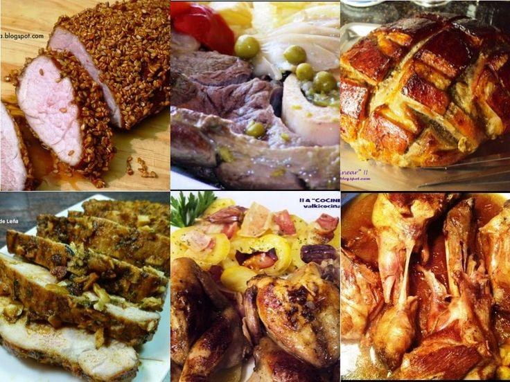 Menú especial Navidad, carnes