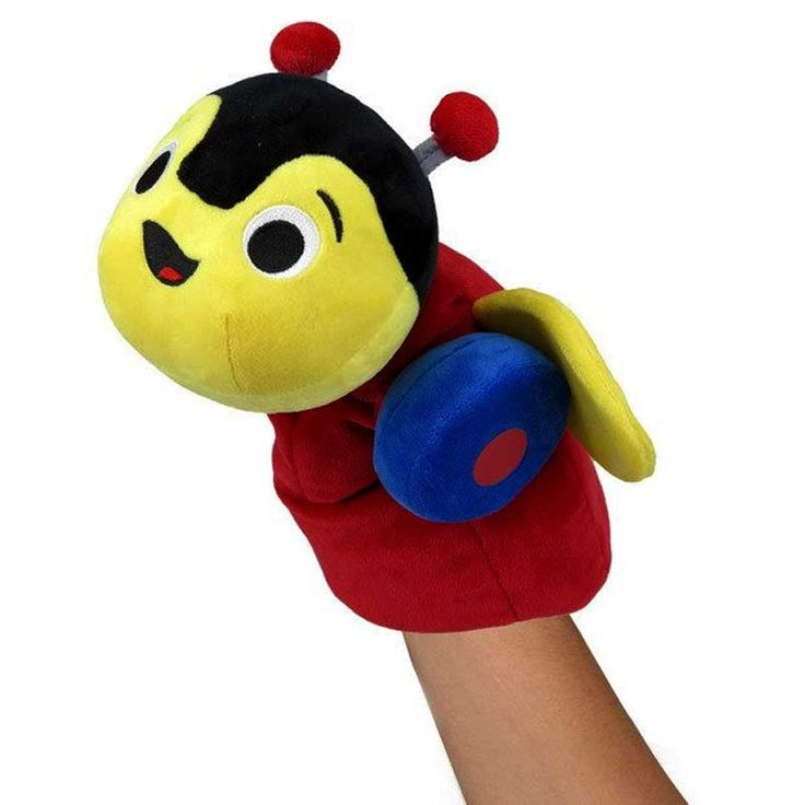 The famous New Zealand Buzzy Bee is now available as a puppet with a swivel head. New Zealand'smost favourite Childrens toy, featuring the traditonal buzzy bee colours you remember, this super soft friend will be right at home in any New Zealand house. Made from high quality plush. It is surface washable and perfect for children of allages.