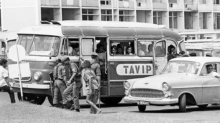 Bus Jakarta tahun 1960an