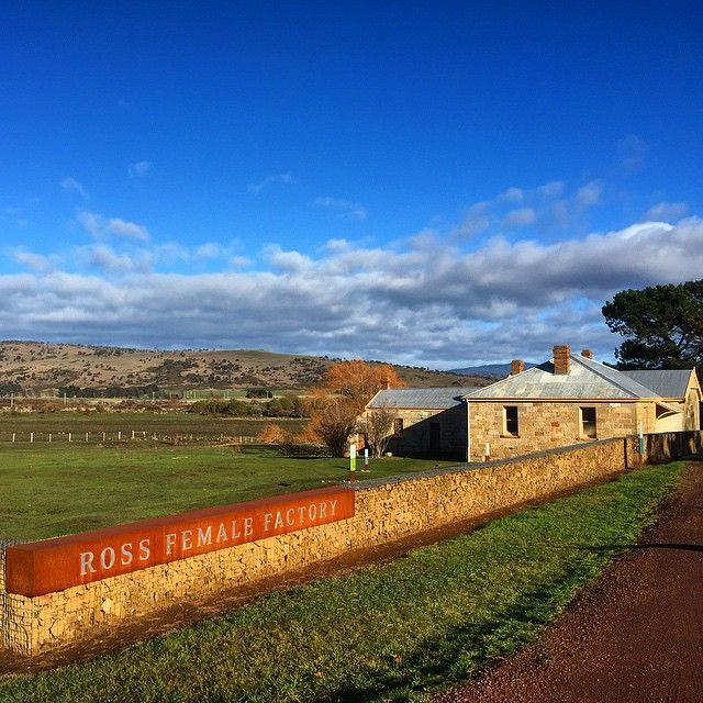 The Ross Convict Female Factory is another of Tasmania's collection of sites which pay tribute to a sobering past of internment and harsh conditions for women. Colonial Tasmania as a settler must have been extreme - the life of a prisoner during this period, even more so. Image credit: Azlina Wilson #DiscoverTasmania #Ross #tasmania #convict #colonial