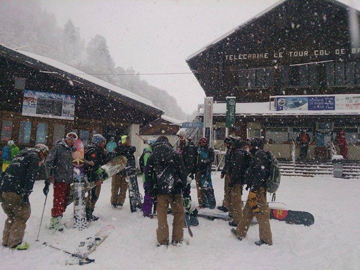 UCPA Chamonix & UCPA Argentière 36 cm de neige Fraîche  255 cm en haut des pistes