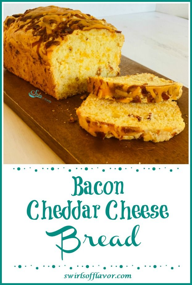 Bacon Cheddar Cheese Bread | Recipe | Easy baking recipes ...