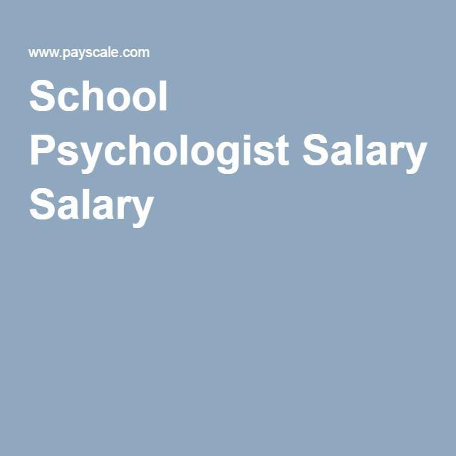 School Psychologist Salary