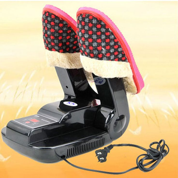 Bake Shoe Device Drying Machine sterilization Antiperspirant Folding Portable Electric Shoe Dryer shoes boots gloves Specification: Name: Shoe dryer Removes moisture inside the shoe and eliminates the growth of bacteria Great for hikers,soccer players,golfers,tennis players,fishermen,skiers,et Fits for leather shoes,cloth shoes,cotton shoes,rain boot,etc. Low power consumption and economical Voltage:220V 50HZ Power: 150w Material:ABS+Metal Size : 29.5*18.5*9.5cm ...