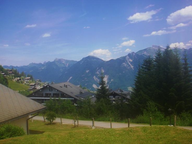 Lovely Torgon, Swiss Alps