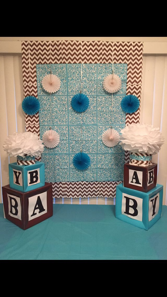 14 Best Images About Baby Shower Building Block