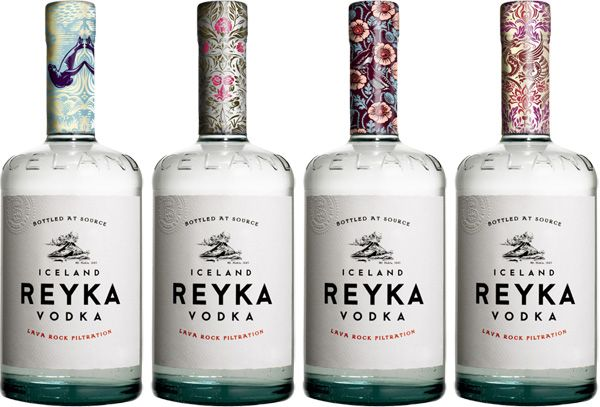 Before & After: Reyka - The Dieline - The #1 Package Design Website -