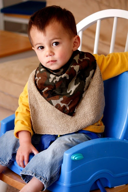 bibs for boys, easy and cute!