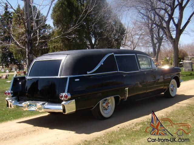 1957 cadillac hearse by miller meteor funeral vehicles 1956 rh pinterest com