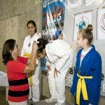 """Lucía Corpacci en la apertura del Campeonato Nacional Judo """"Catamarca 2015"""""""