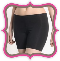 "Thigh Society - ""Super soft, lightweight and comfortable underwear to prevent inner thigh chafing and irritation."" I have these and they are a MUST when wearing skirts in this humid Hawaii weather. I love that they're not compression garments, so they don't create weird bulges at the edges and don't make you feel like you can't breathe by the end of the day."