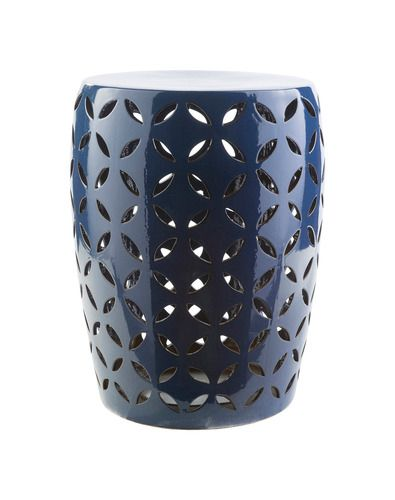'Chantilly Ceramic Stool by Surya. @2Modern'