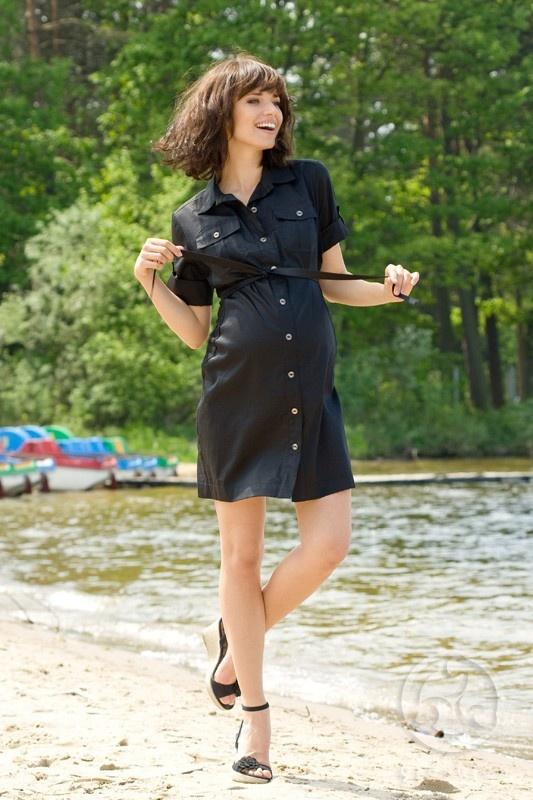 Sarafan pentru gravide Aurina, dar nu numai ...poate fi purtat si dupa perioada sarcinii. Este disponibil in doua culori: negru si culoarea maslinei. Datorita materialului (bumbac) si croiului, este un sarafan pentru gravide foarte comod, cu cordon deasupra burticii care poate fi reglat in functie de stadiul sarcinii, cu maneci trei sferturi de asemenea cu posibilitatea de a regla lungimea acestora. Safari style !