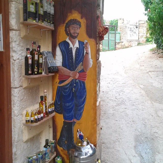 #Cretan man #Tradition #Rethymno Crete #Greece Photo credits: @creta_fun