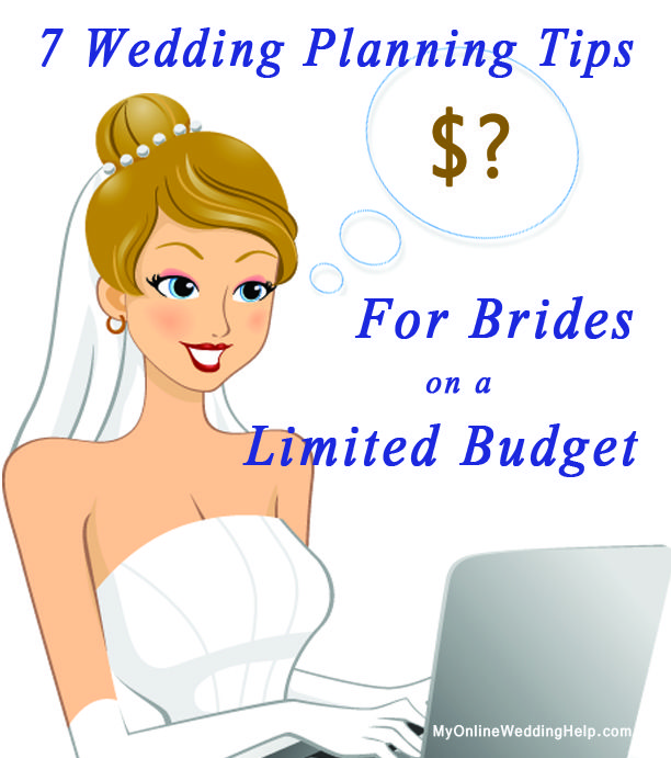 For brides on a limited budget