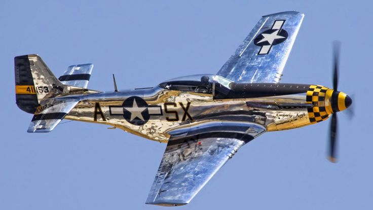 Cool Plane Propellers : P mustang polished aluminium cool aircraft pinterest