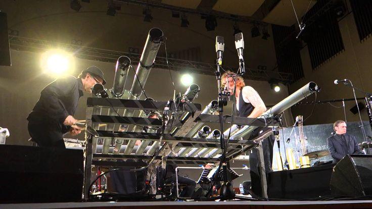 Einstürzende Neubauten Lament Live all'auditorium RAI di Torino, 29/11/2014 Blixa Bargeld, N.U.Unruh, Alexander Hacke, Jocken Arbeit, Rudolf Moser Jan Tilman...