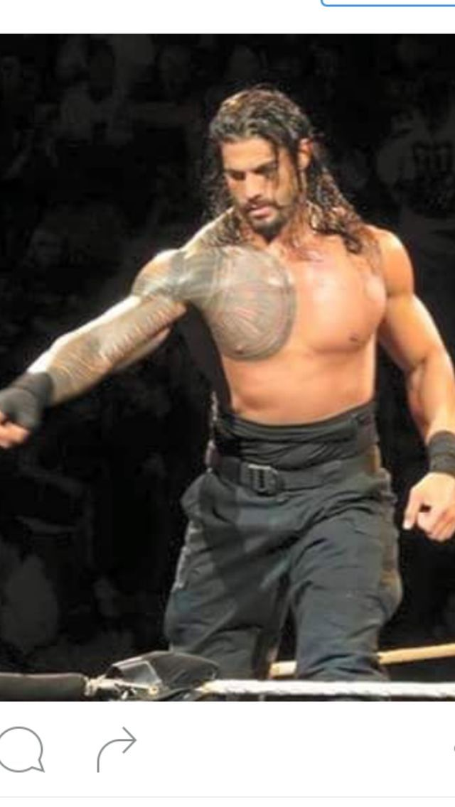 Image result for Roman Reigns smiling sexy gifs