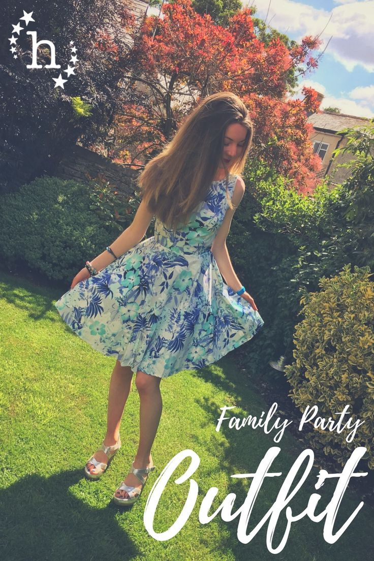 A little peek at (and info about) my outfit for a family party last Sunday...