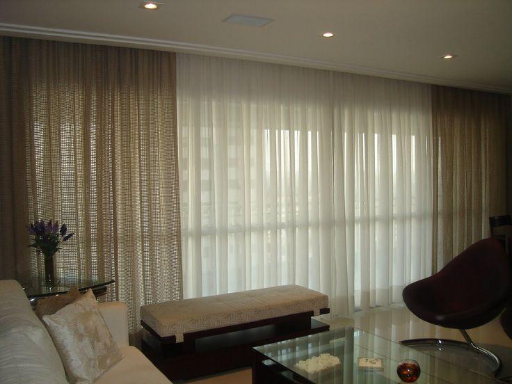 25 melhores ideias de cortinas de linho no pinterest - Cortinas estilo rustico ...