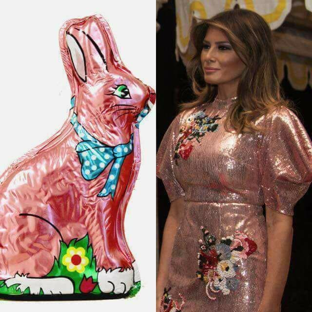 One is hollow, tasteless, and cheap, the other is an Easter Bunny