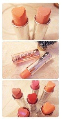 Hearts! Cute Lipsticks on @BuzzFeed