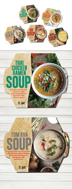 [ Visual Enhancement of Pre Packed Food ]Frozen Soup Packaging on Behance