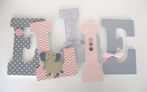 25+ Best Ideas About Decorated Wooden Letters On Pinterest