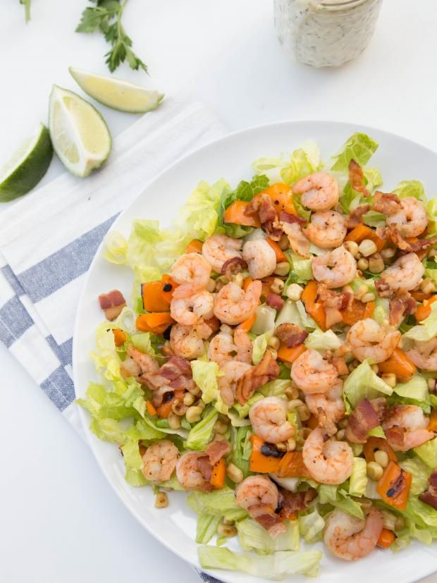 Shrimp Lettuce Salad Recipe, the most delicious salad that made me love shrimp for the first time!