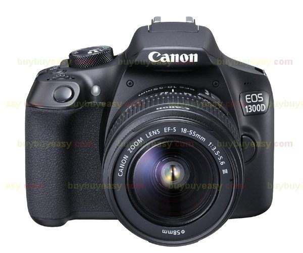 New Canon EOS 1300D Rebel T6 DSLR Wi-Fi Camera with 18-55mm III Lens //Price: $388.00//     #onlineshop