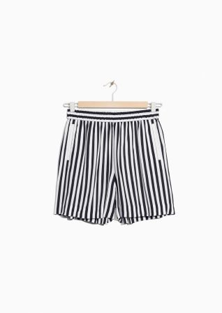 & Other Stories | Striped Shorts