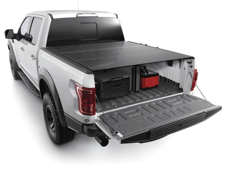 Maximize the security of your truck bed with the WeatherTech AlloyCover. Our lightweight, foldable hard truck bed cover will keep your items safe without compromising style or aerodynamic qualities.