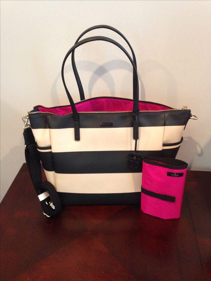 My new Kate Spade Diaper Bag..... Sooooo in love!!!!!