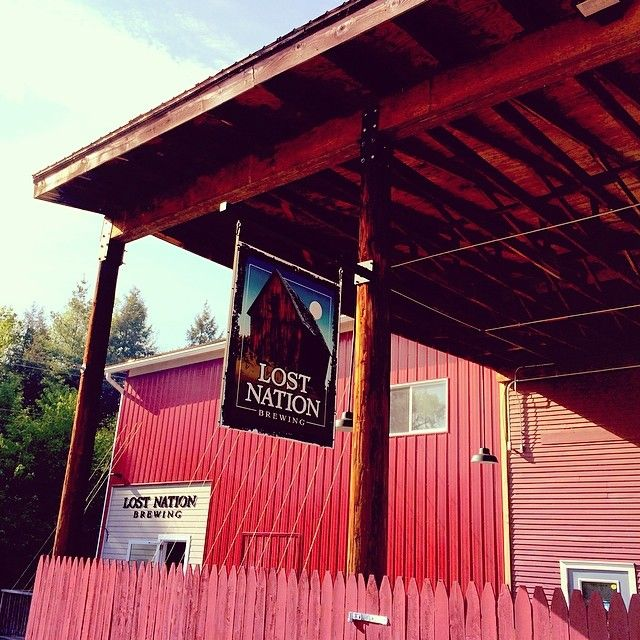 Visit Lost Nation Brewing in Morrisville, VT. #Vermont #Brewery