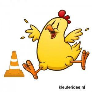 Gymles voor kleuters thema lente 1, kleuteridee.nl