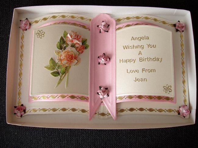 Keepsake Card Craft Bookatrix The Glitter Girls