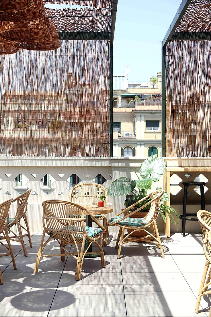 Las vistas desde la terraza son impresionantes jardines for La terraza barcelona