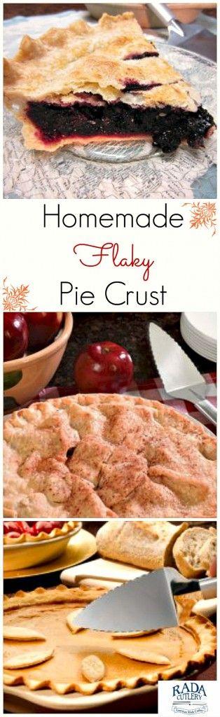 Homemade Pie Crust Collage