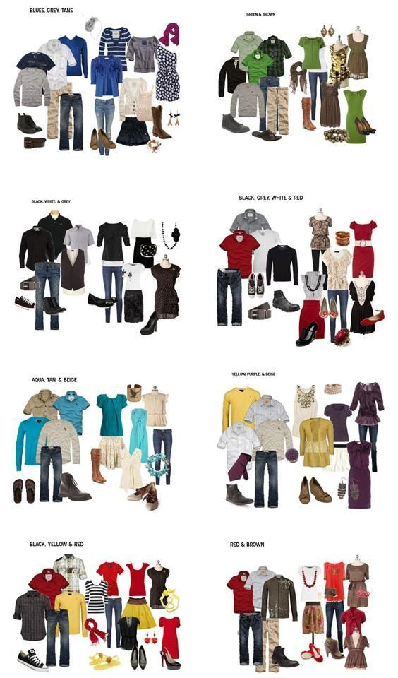 What to Wear for Fami ly Pictures - The Realistic Mama:
