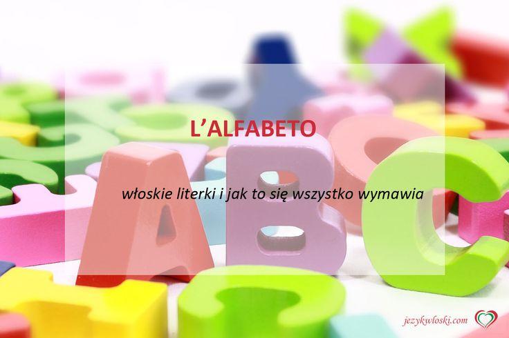 Alfabet włoski  http://jezykwloski.com/alfabet-wloski/